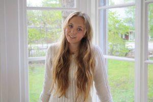 Alva fick första pris i Francophonie-tävlingen