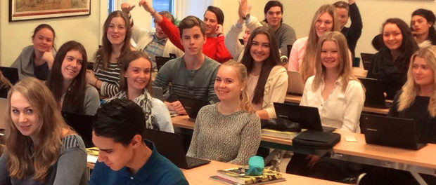 Ung Privatekonomi besökte Europaskolan Strängnäs