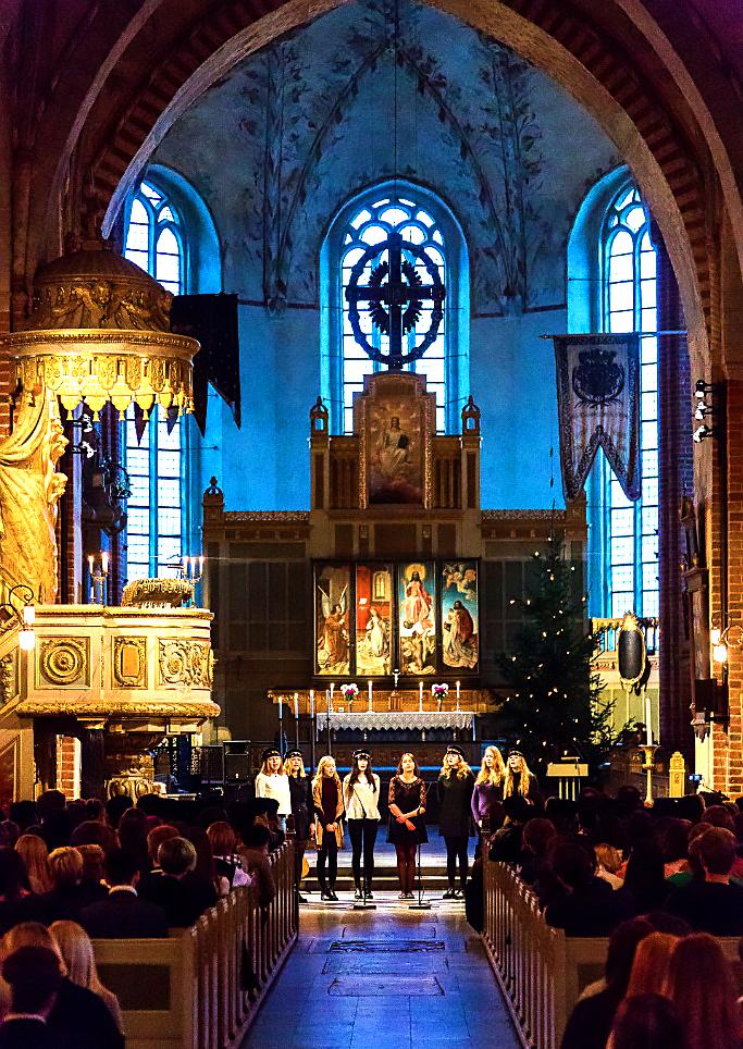 Europaskolan Strängnäs Julavslutning