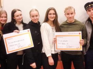 Första och andra pris till Europaskolan Strängnäs